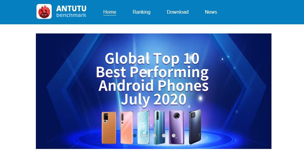 Antutuベンチマーク2020年7月ベストパフォーマンスのandroidスマホはどれだ?