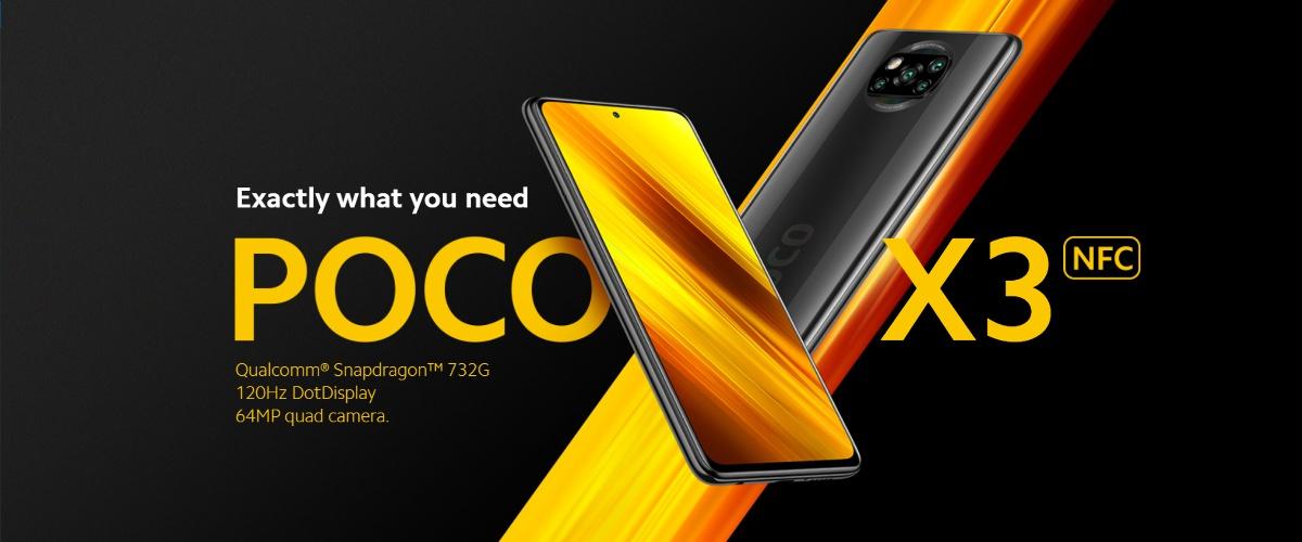 ミドルクラススマホに新基準、Xiaomi POCO X3 NFC発表。スペックは?